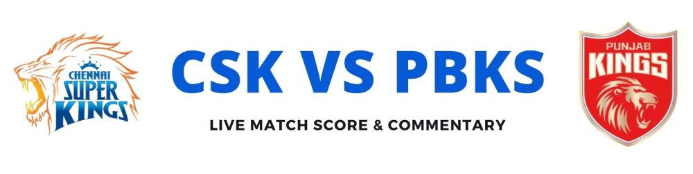 PBKS vs CSKlive score
