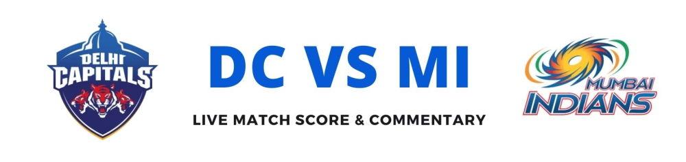DC vs MI live score