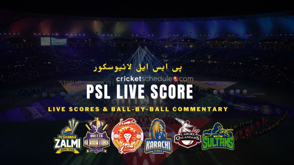 psl live score